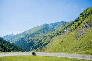 keto in the country blog - motor bike in the mountains