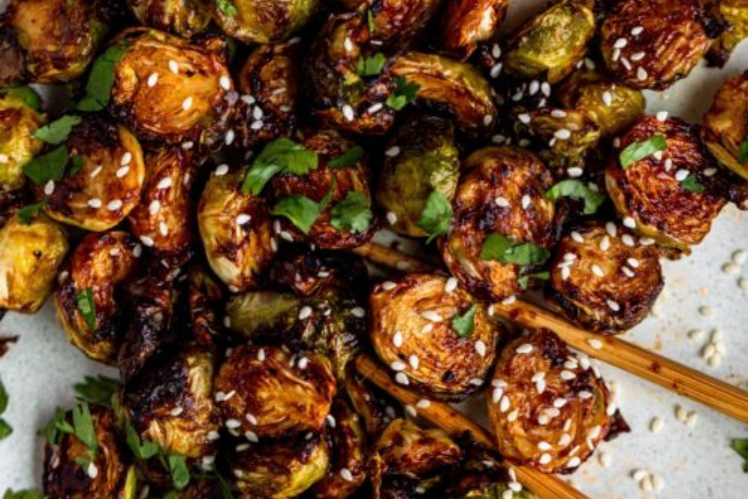 Asian Brussels sprout recipe, keto in the Country