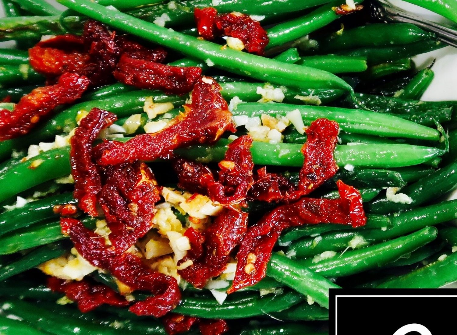 ginger and garlic green beans keto in the country