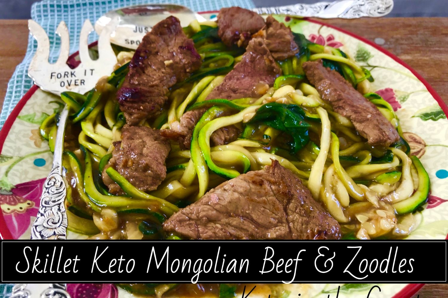 Mongolian Beef and Noodle recipe keto in the country